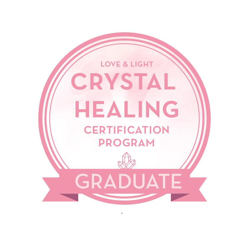 Certified Crystal Healer Graduate
