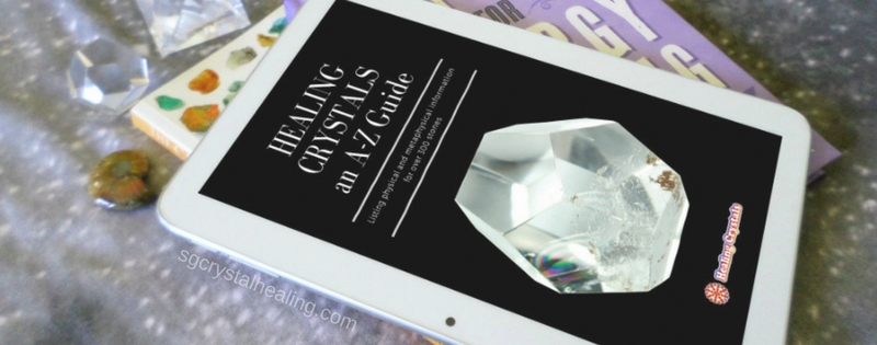 Winner of Healing Crystals an A-Z Guide eBook Giveaway