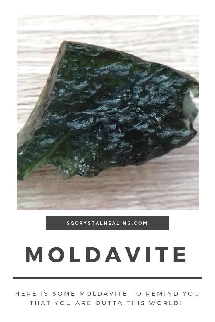 Moldavite to remind you that you are outta this world!