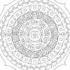 Root Chakra Mandala Coloring Page Preview