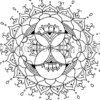 Oracle Mandala Coloring Page - Improvise Preview